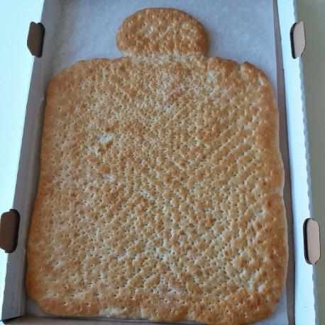 Gluten-laktoserfri pålægs kagemand bund(kun afhentning)
