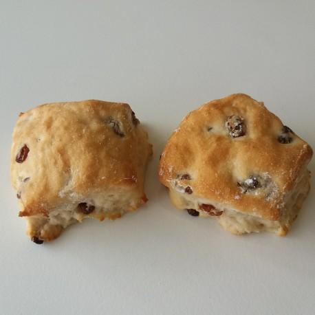 Gluten-laktosefri Rosinboller