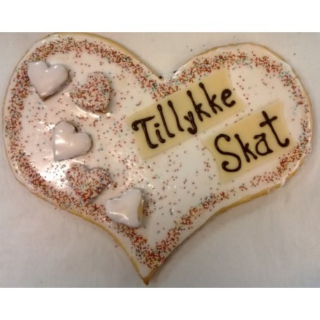Hindbærsnitte hjerte Naturlig glutenfri